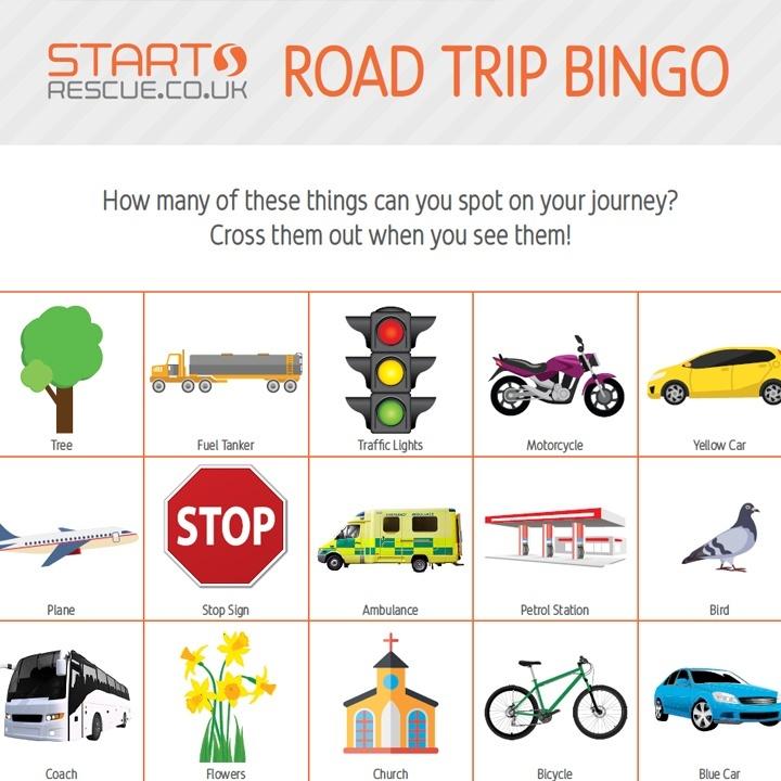 In-Car Games | startrescue co uk